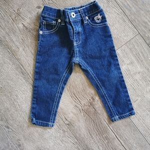 2/$15 Dollhouse jeans baby girl 12 m